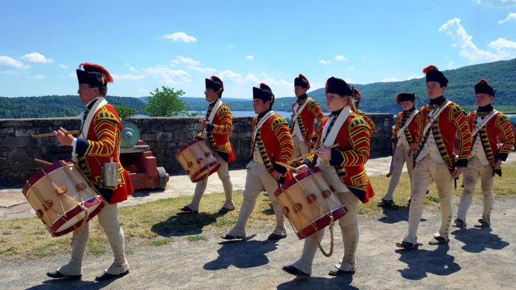 Fife and Drum Corps 201. (Credit Fort Ticonderoga)