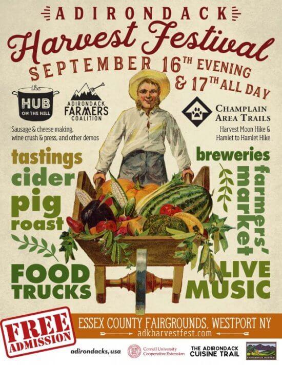 Adirondack Harvest Festival Poster