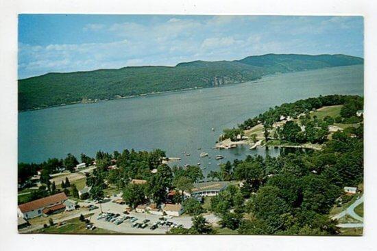 Basin Harbor Club Postcard