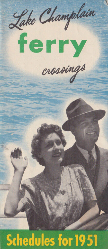 1951 Ferry Brochure (Cover)