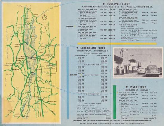 1951 Ferry Brochure (Interior 1)