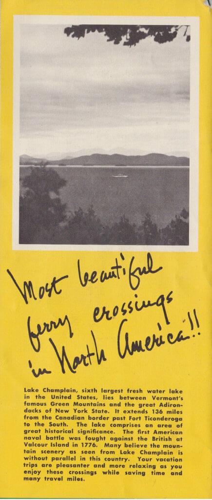 1951 Ferry Brochure (Interior 2)