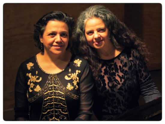 Duo Mistral- pianists Paulina Zamora and Karina Glasinovic