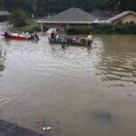 Flooding in Denham Springs, LA, August 2016 (Credit: Alice Dowty)