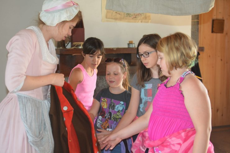 Girl Scout Day at Fort Ticonderoga takes place on October 15, 2016. (Credit Fort Ticonderoga)