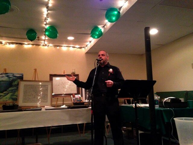 2016 Green Party candidate Matt Funiciello