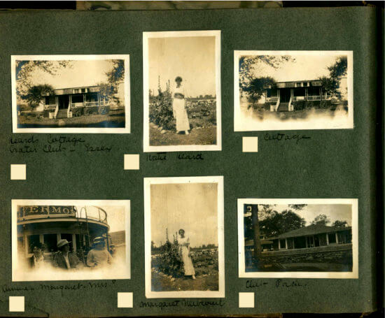 Photo Album circa 1915 Essex, NY -Page 12 of album (Shared by John Strangfeld)