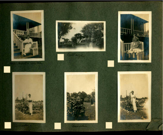 Photo Album circa 1915 Essex, NY -Page 13 of album (Shared by John Strangfeld)