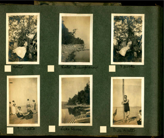 Photo Album circa 1915 Essex, NY -Page 14 of album (Shared by John Strangfeld)