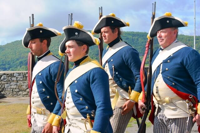 "The ""Now Left to their own Defense"" German and British Soldiers Leave Ticonderoga-Living History Event takes place on Saturday, November 12, 2016. (Credit: Fort Ticonderoga)"