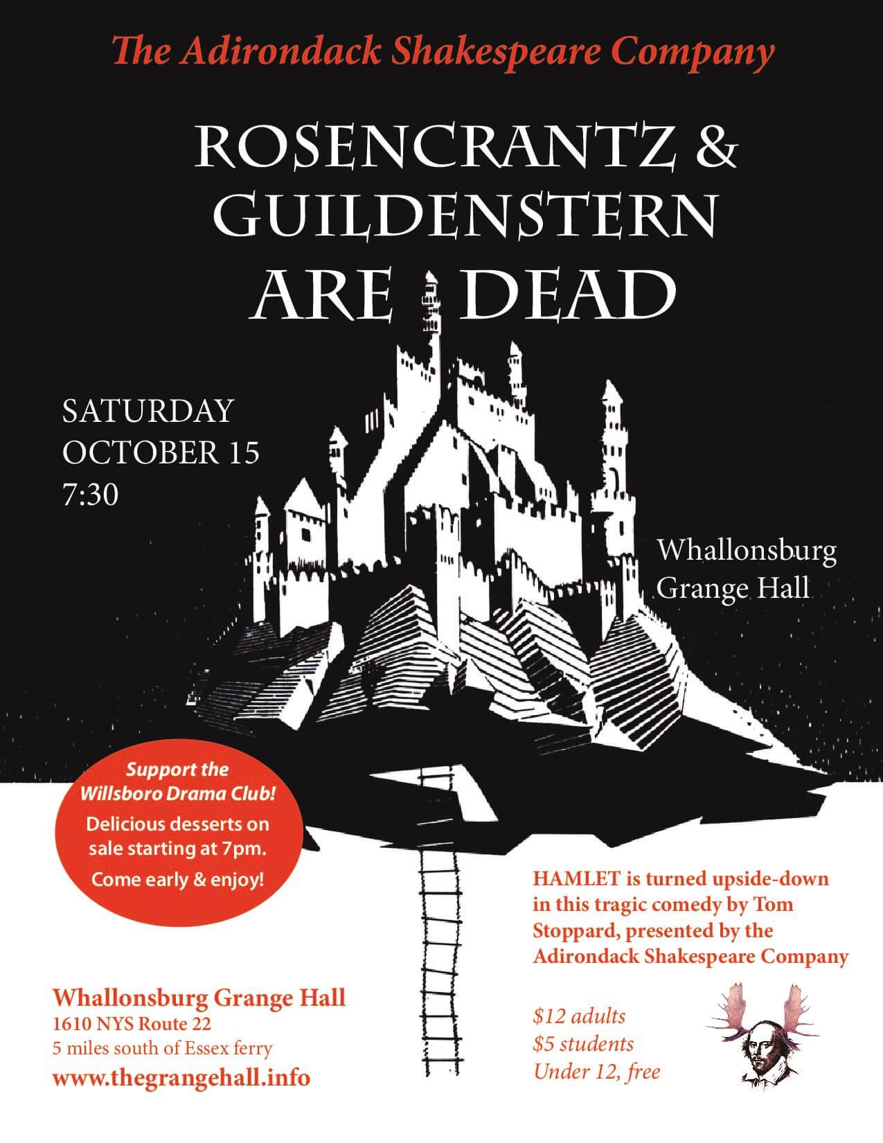 Rosencrantz & Guildenstern Are Dead - Grange Poster