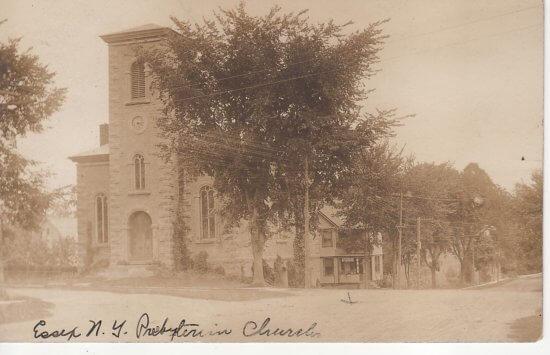 Vintage Photo: Presbyterian Church, Essex, NY