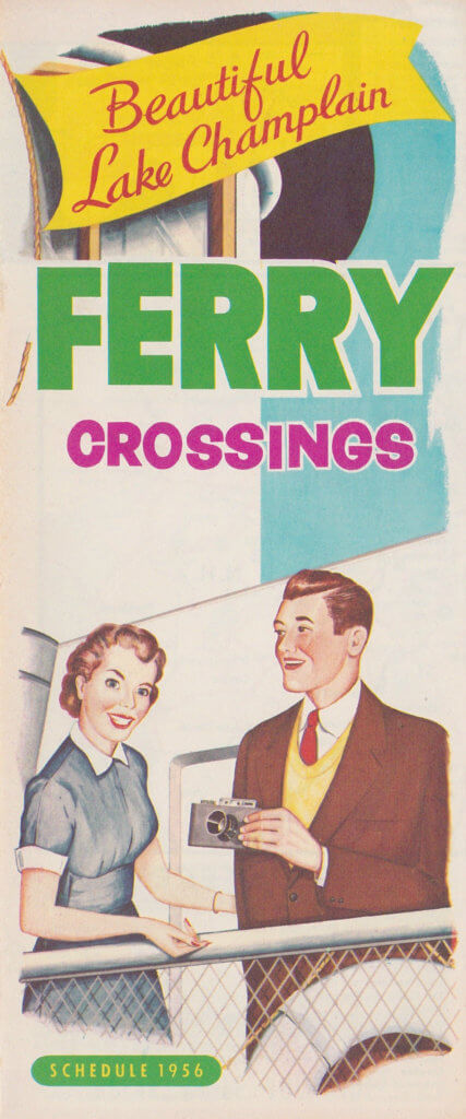 1956 Ferry Brochure (Front Cover)