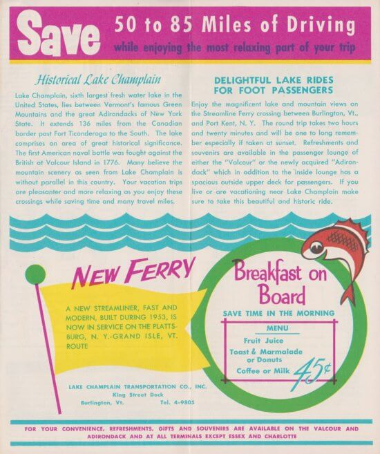 1956 Ferry Brochure (Interior Page 1)