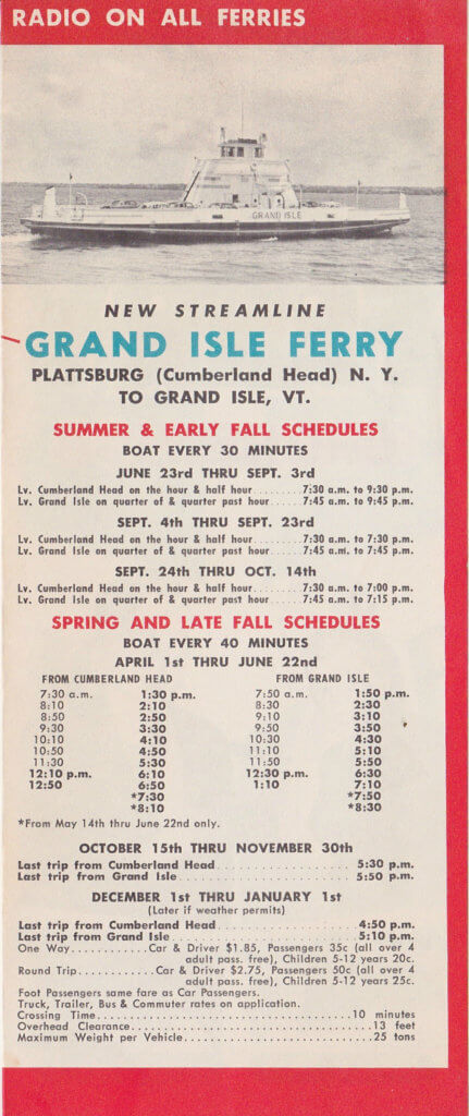 1956 Ferry Brochure (Interior Page 3)