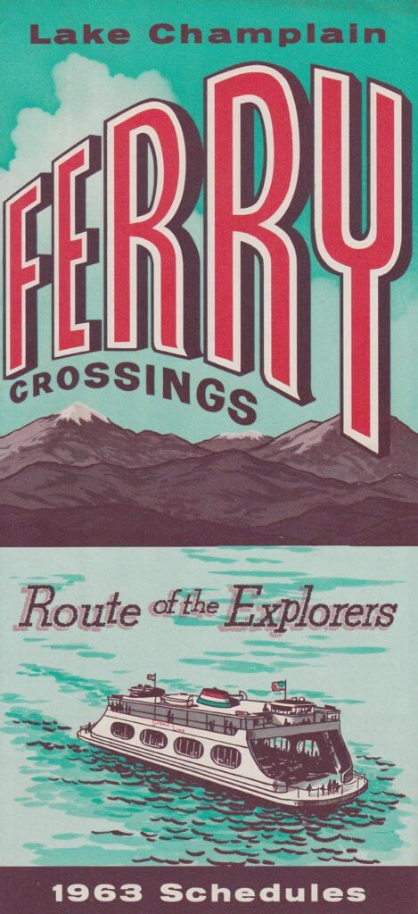 1963 Ferry Brochure Cover