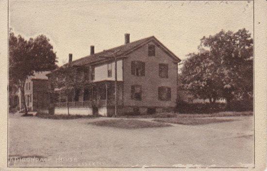 Vintage Postcard: Adirondack House, Essex, NY