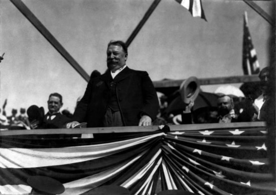 President Taft speaks at Fort Ticonderoga during his visit on July 6, 1909. Taft's visit will be the topic of the Fort Fever Series program on Sunday, January 8, 2017, at 2:00 P.M. given by Director of Education Rich Strum. Admission is $10; free for Members of Fort Ticonderoga.