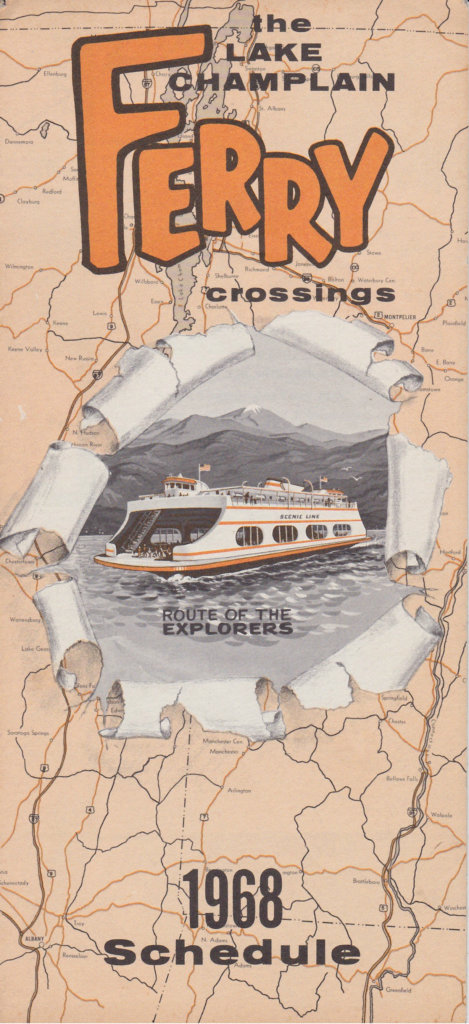 1968 Ferry Brochure - front