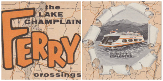 1968 Ferry Brochure - Collage