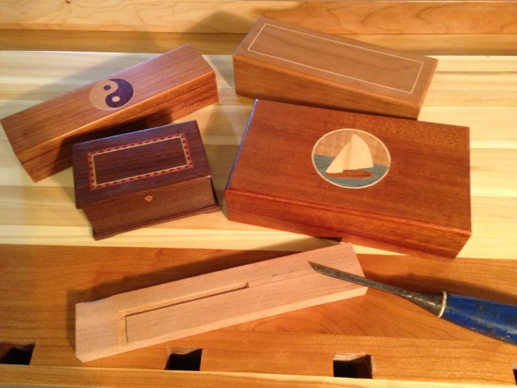 INLAY & MARQUETRY: Painting with Wood