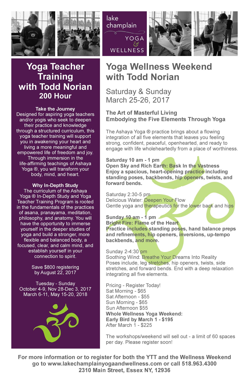Todd Norian YTTWW Flyer