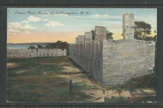Vintage Postcard: Crown Point Ruins circa 1910s