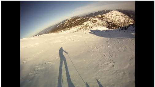 Skiing Mt. Marcy In Five Minutes (Video Screenshot)