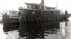 U.S. La Vallee Tug Boat