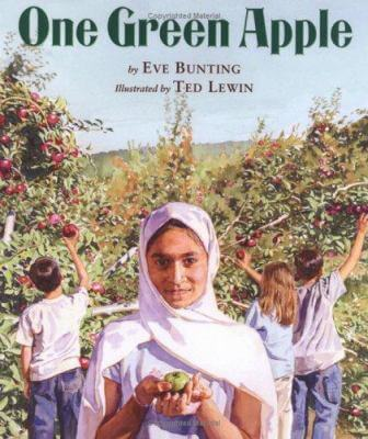 "Cover of ""One Green Apple"""