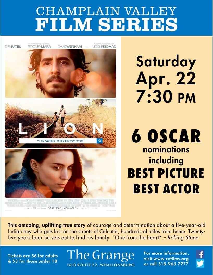 LION Grange Film Flyer