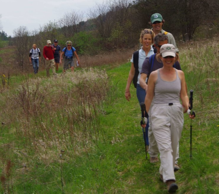 On Saturday May 13, hikers on CATS Grand Hike to the Essex Inn will walk on the Long Valley Trail on their way from Wadhams to Essex Inn. To learn about joining the hike, go to champlainareatrails.com.
