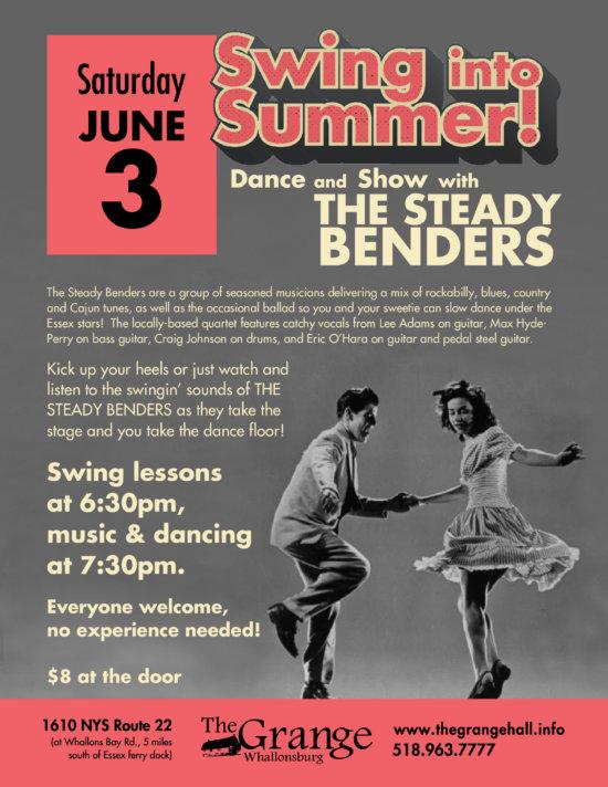 Grange Swing Poster, June 2017