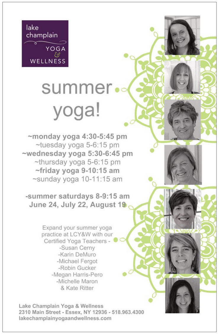 LCY&W Summer Yoga 2017 Flyer