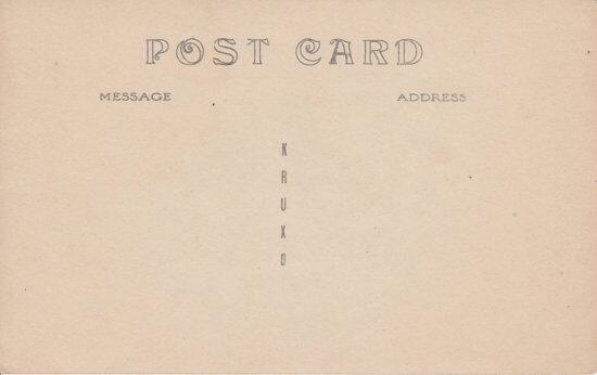 Vintage Postcard: Lake Shore, Essex, NY (back side)