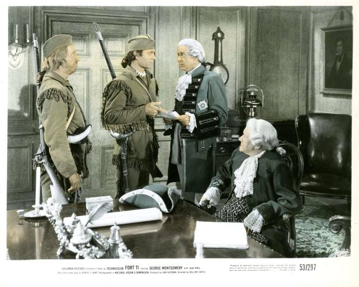 Old Fort Ti Lobby Card