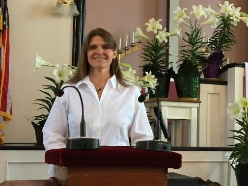 Essex Community Church, Essex, NY: Pastor Peggy Staats. (Photo courtesy of Jane TerLouw.)