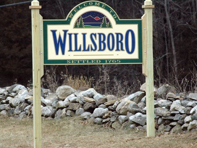 Willsboro Sign
