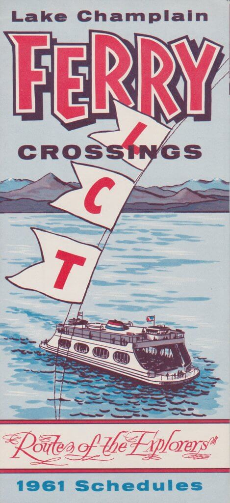 1961 Ferry Brochure - cover