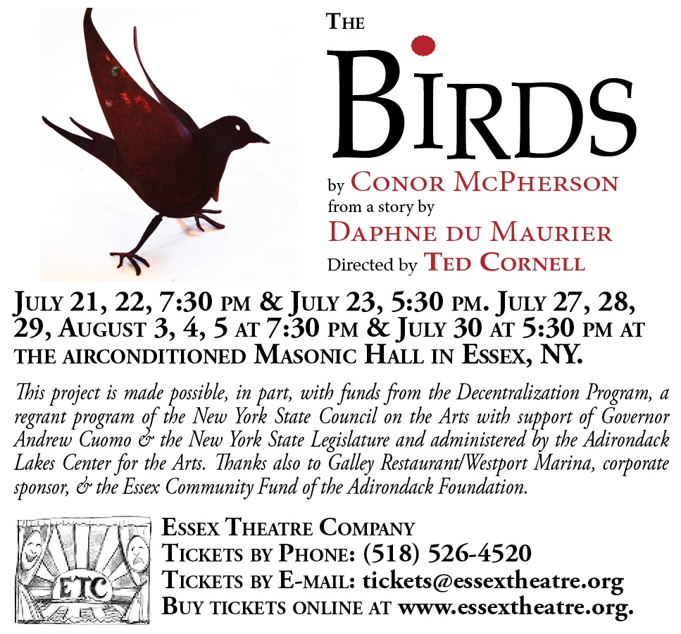 The Birds, directed by Ted Cornell