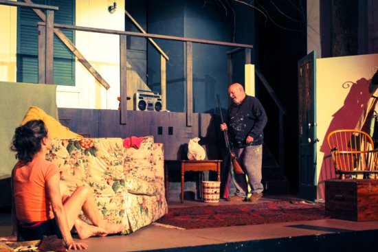 Martha Swan and Ted Cornell in The Birds, by Conor McPherson