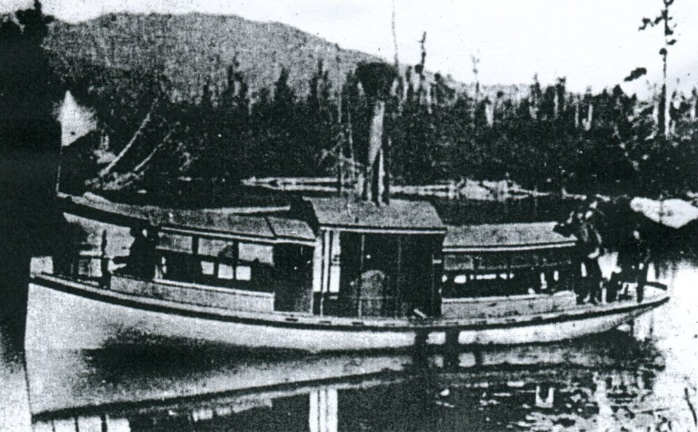 The Water Lily, a steamboat built in 1878-79 by Fred W. Rice, Sr. and William A. Martin