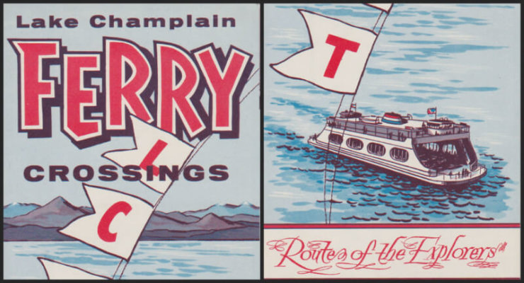 1961 Ferry Cover Collage