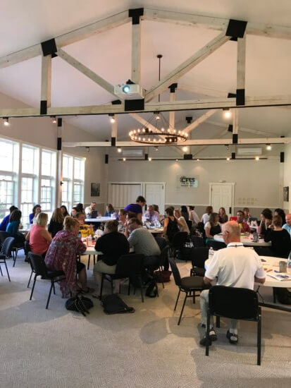 60 educators from 12 Adirondack schools gathered at the CFES Center to plan their 2017-18 CFES programs (Credit: CFES)