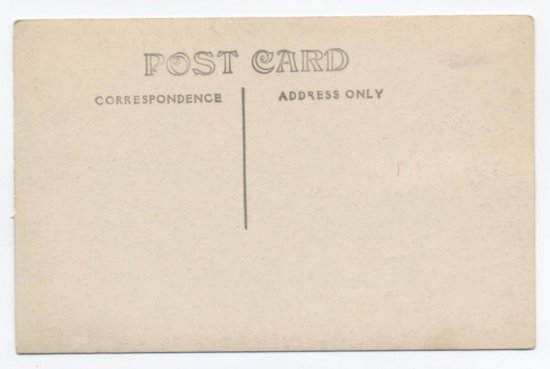 Vintage Postcard: Essex Waterfront View - back side