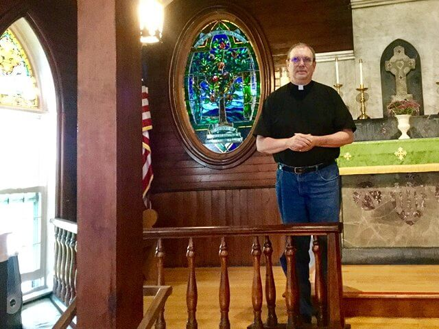 Father Craig Hacker has joined St. John's Episcopal Church parish as full time priest. (Credit: Kim Dedam)