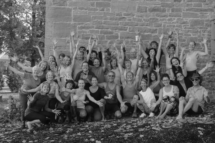 Lake Champlain Yoga & Wellness Teacher Training, October 4-9th, 2017 (Credit: ZVD Photography)
