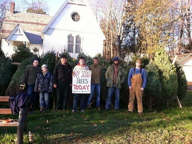Boy Scouts in Westport will host their Christmas Tree sale