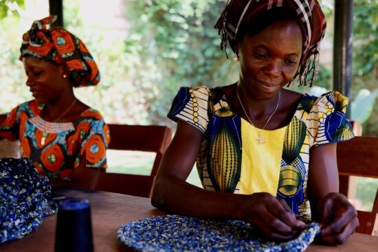Ndara artisans in Central African Republic (Source: www.ndaratibeafrika.com)