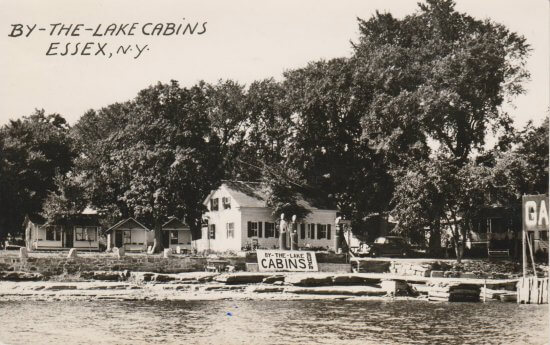 Vintage Photo: By the Lake Cabins, Essex, NYVintage Photo: By the Lake Cabins, Essex, NY